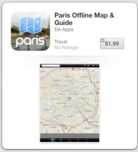 4 paris app icon